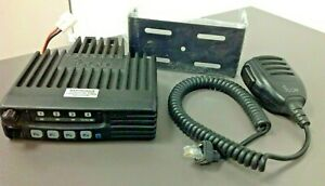 Icom Ic f121s Mic Hm 152 And Mount Bench Tested