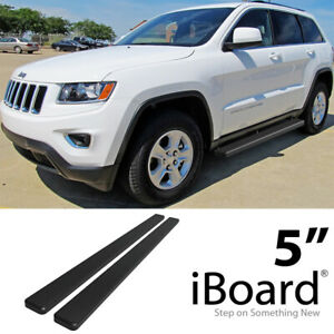 Iboard Stainless Steel 5 Running Boards Fit 11 19 Jeep Grand Cherokee