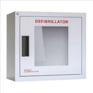 Aed Wall Cabinet With Keyed Alarm 16 l X 14 5 8 h X 8 3 8 w