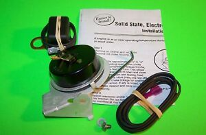 Electric Choke Kit Rochester Quadrajet Carburetor 72 78 Sm Block Chevy 350 400
