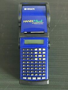 Brady Handimark Portable Label Maker Powers on