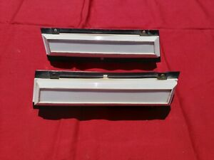 1985 89 Lincoln Town Car Pair Of Side Opera Lights Lh Rh