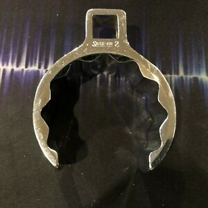 Snap on 1 2 Drive 12 point Sae 2 Flank Drive Deep Flare Nut Crowfoot Wrench