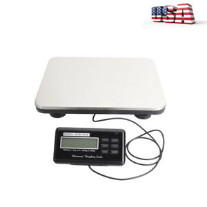 300kg 100g Lcd Display Digital Logistics Shipping Weighing Postal Scale Us Plug