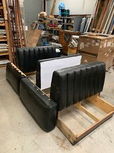 Booth Seating Restaurant Leather Dining Seats 1 Single 1 Double pickup Only