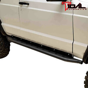 Tidal Fit For 84 01 Jeep Cherokee Xj Off Road Jeep Rock Slider Side Step