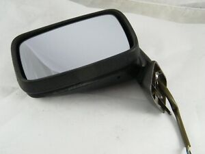 1985 Porsche 944 Oem Left Driver Door Side Mirror Dark Silver 928 731 023 05