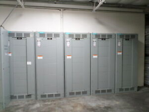 Siemens Switchboard Sb3 480v 1600 A Lot Of 2 Pices