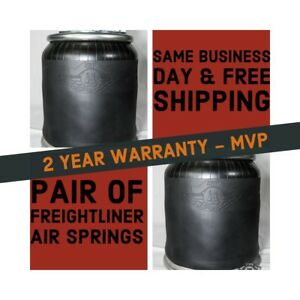 2 X Air Spring For Freightliner Replaces Firestone W01 358 9781 1r12 603