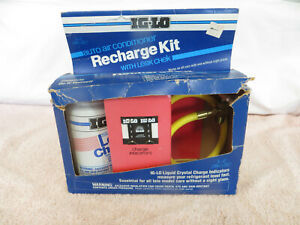 Nos Ig Lo Auto Air Conditioner Recharge Kit R12 Refrigerant Freon