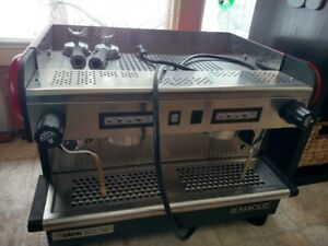 Espresso Machine 2 Group Commercial Refurbished Rancilio Red