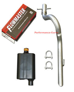 91 96 Jeep Wrangler Performance Exhaust W Flowmaster Original 40 Muffler