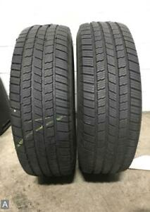 2x P275 60r20 Michelin Defender Ltx M S 10 5 11 32 Used Tires