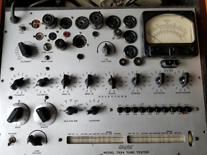 Hickok 752a Vintage Tube Tester Restored And Calibrated