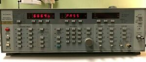 Wiltron 6669b 10mhz 40ghz Programmable Sweep Generator Passes Self Test
