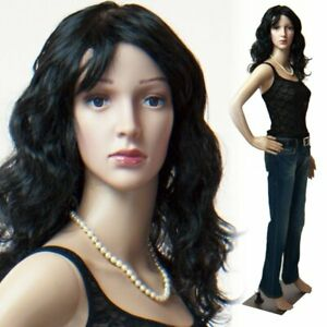 Realistic Standing Female Adult Mannequin Base 2 Free Wigs F 01 2