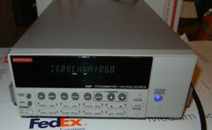 Keithley 6487 Picoammeter Voltage Source With Gpib Rs 232