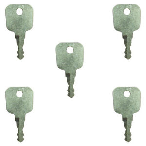 14607 Pack Of 5 Keys For Ford New Holland Nh Tractor Lb Series