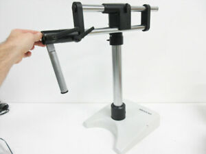 Wild Microscope Stand 439034 Rod W 439095 Base And 439097 Shoulder Mount