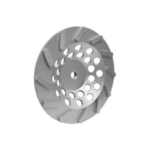 7 X 5 8 11 Turbo Cup Wheel Grinding Grinder 12 Segments Wet dry For Concrete