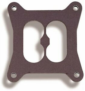 Holley 108 18 Base Gasket 1 75 Bore Size 5 16 Thick For Models 4010 4150 4160