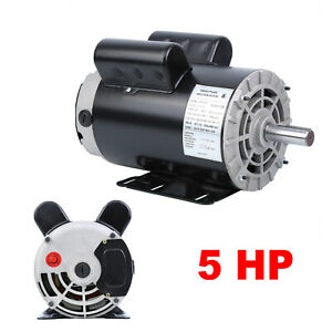 5hp 3450rpm Electric Air Compressor Duty Electric Motor 56 Frame 7 8 Shaft 230v