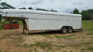 Enclosed Gooseneck Trailer 24ft