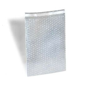 1200 12 X 15 5 Clear Bubble Out Bags Protective Pouches Self Seal