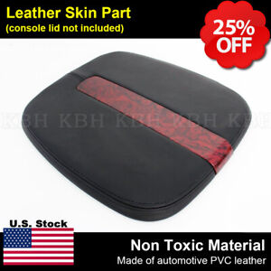2007 2011 Cadillac Escalade Leather Center Console Lid Cover Armrest Compartment