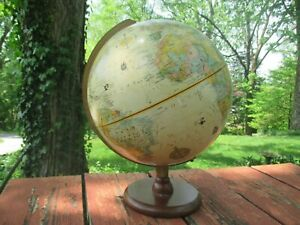 Vintage World Desk Globe
