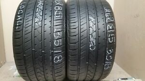 No Shiping Only Local Pick Up 2 Tires 285 35 18 Lionhart Lh Five 80 Tread