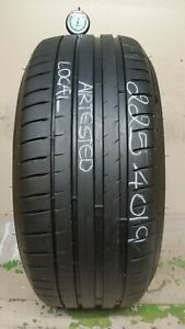 No Shipping Only Local Pick Up 1 Tire 225 40 19 Michelin Pilot Sport 4