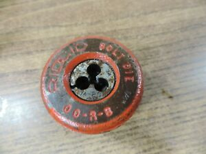 Ridgid 00 r b Bolt Die Head Threader 1 4