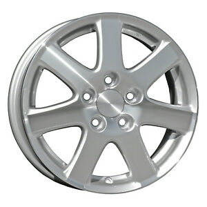 64000 Refinished Honda Accord 2004 2005 16 Inch Wheel Rim Oe Machined And Silver