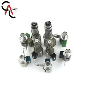 Tb 60nf Tb65 Sn A960e A960 Transmission Solenoid Kit 9pcs For Lexus Is250 Gs300