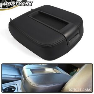 For Chevrolet Silverado Gmc Sierra Ebony Black Center Console Armrest Lid