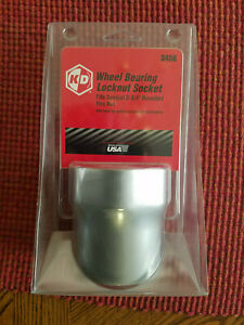 New 2 3 4 Wheel Bearing Locknut Socket Pt 3456 By Kd Tools Usa