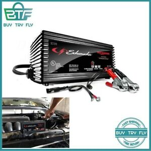 Automatic Battery Charger Maintainer 6v 12v Cars Boat Powered 1 5a Schumacher