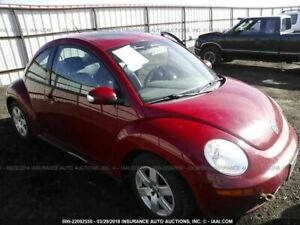 Rear View Mirror With Digital Clock Fits 06 10 Beetle 873207