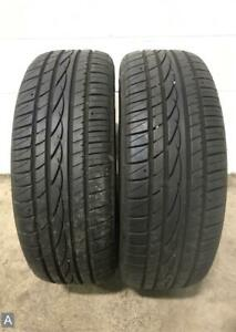 2x P215 55r17 Ohtsu Fp0612 As 9 32 Used Tires