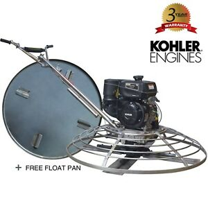 46 Gas Concrete Wet Powertrowel Cement Powered By Kohler 9 5hp Engine