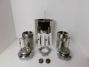 Parr Oxygen Vessel Bucket Combination Btu lb Cal g Tested And Calibrated