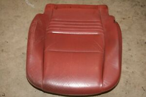 Porsche 996 986 Boxster 97 04 Leather Seat Bottom Cover Right Red Full Leather