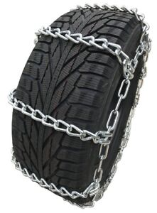 Snow Chains P245 70r15 P245 70 15 Extra Heavy Duty Mud Tire Chains Set Of 2