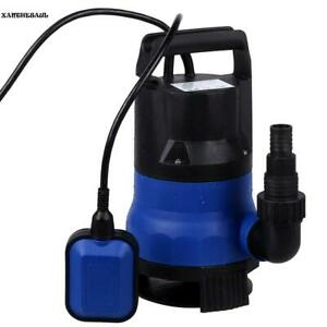 8000l h 400w 5m Electric Submersible Pump Clean Dirty Flood Water Swimming Pool