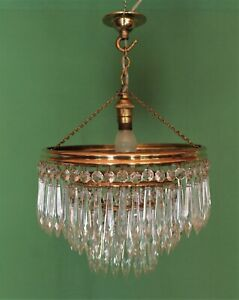 Antique Icicle Chandelier