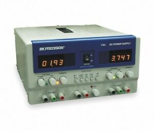 New B k Precision 1761 Triple Output Lab Bench Power Supply