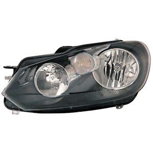 Vw2502144r Remanufactured Head Lamp Assembly Driver Side Halogen Hella Type