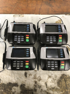 Lot Of 4 Verifone Mx850 No Base Top Uint And Stylist Only