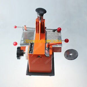 5mm Label Semi automatic Sheet Embosser Metal Stamping Printer Marking Machine